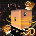 3D Cool Tech Dice Theme 🎲 icon