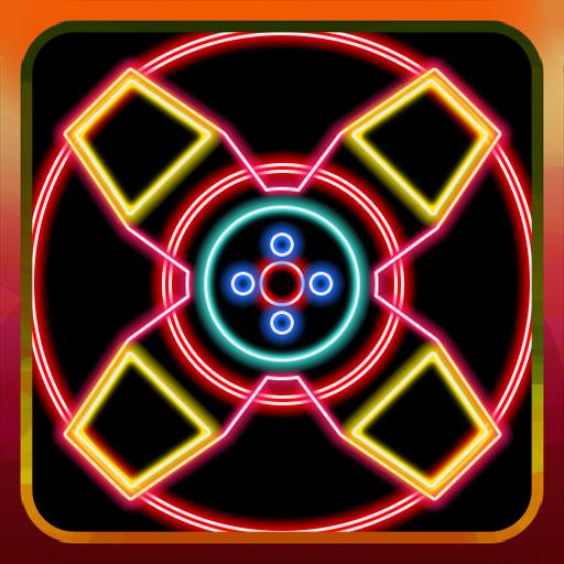 Spinny Fidget Neon