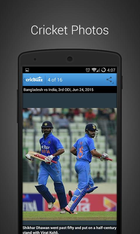 Cricbuzz Cricket Scores & News - screenshot