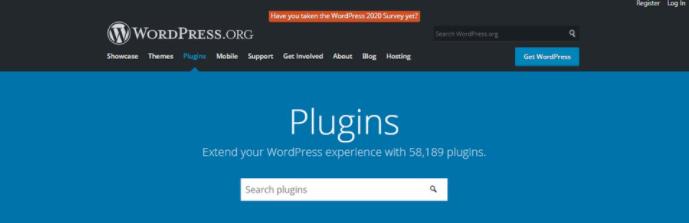 tải plugin của wordpress