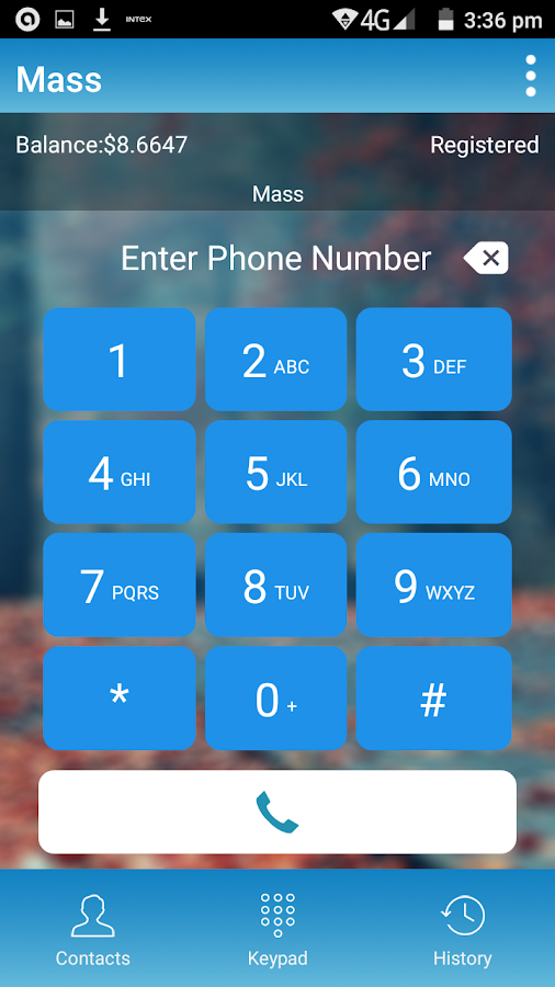 Mass Dialer- screenshot