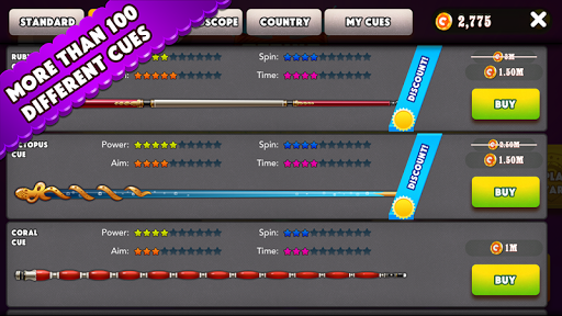 Pool Strike Online 8 ball pool billiards with Chat screenshot 3