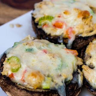 White Albacore Tuna Stuffed Portabella Mushrooms Recipe