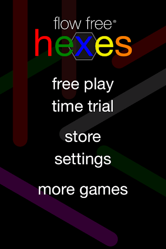 Flow Free: Hexes screenshot 1