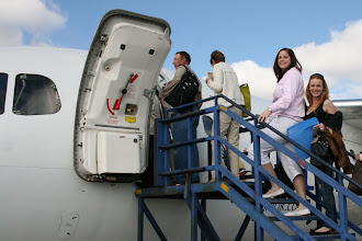 Photo: Go2Africans boarding the flight to Kruger.