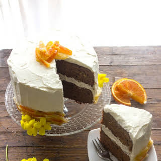 Dark Chocolate Orange Cake.