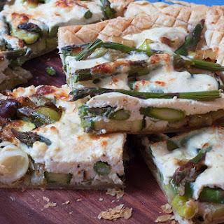 Easy Asparagus and Ricotta Tart Recipe