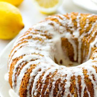Lighter Lemon Poppyseed Bundt Cake