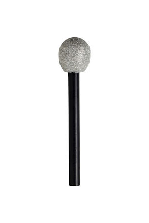 Mikrofon, glittrig
