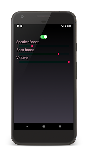 High Volume Speaker Booster With Bass Booster - náhled