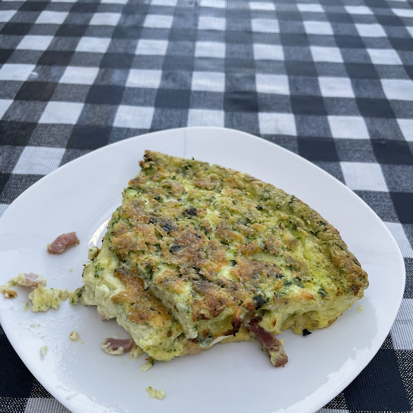 Egg and ham frittata