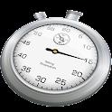 Talking stopwatch icon