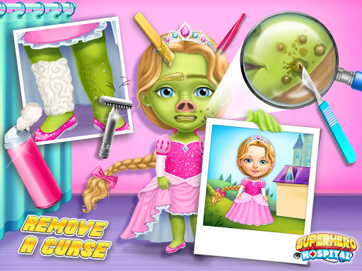 Superhero Hospital Doctor - Crazy Kids Care Clinic 3.0.4 screenshots 10