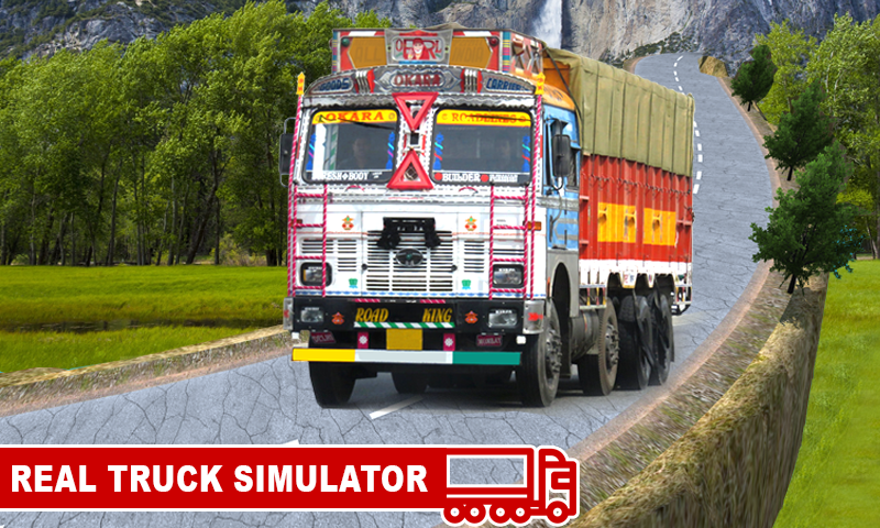 Indian Real Truck Drive Sim- screenshot