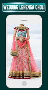 Indian Lehenga Choli Dulhan Wedding Dresses Design - náhled
