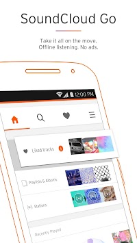 SoundCloud - Zene és Hang APK screenshot thumbnail 3