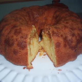 Easy Butterscotch Pound Cake