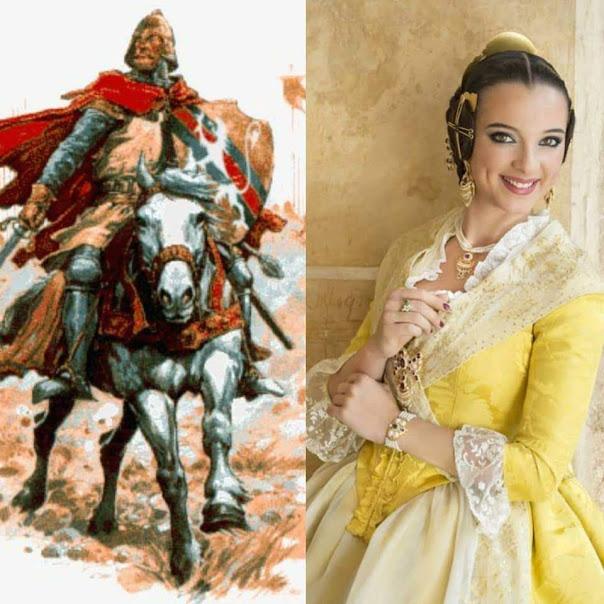 """Premis """"Tizona"""". Falla Josép Maestre """"El Cid"""""""