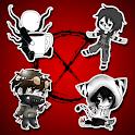 Creepypasta Stickers - WAStickerApps icon