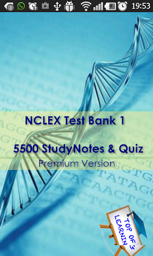 NCLEX Nursing Quiz Test Bank