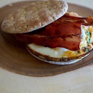 Baked Veggie Breakfast Sandwiches