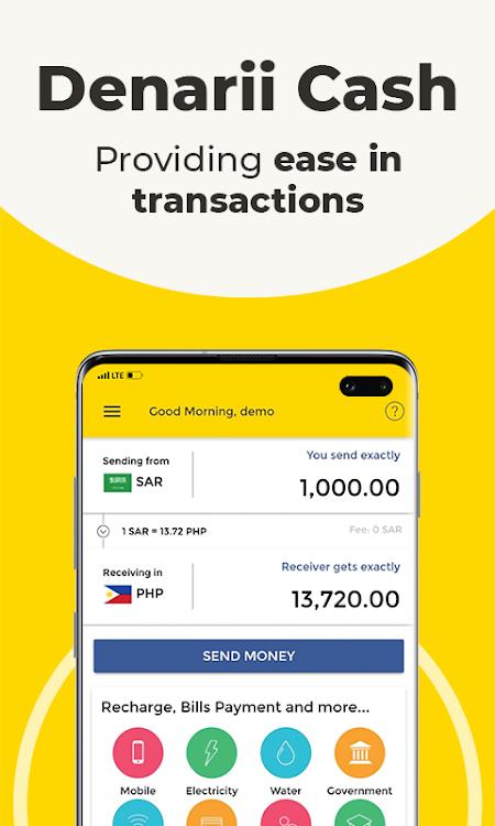 Denarii Cash A Better Way To Send