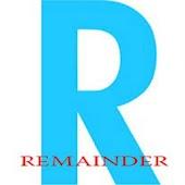 App Remainder