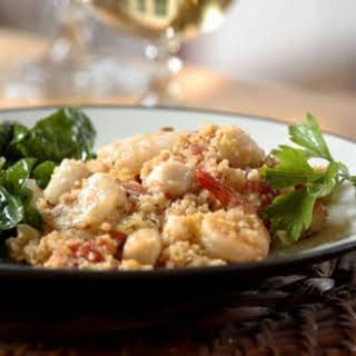 Seafood Couscous Paella.