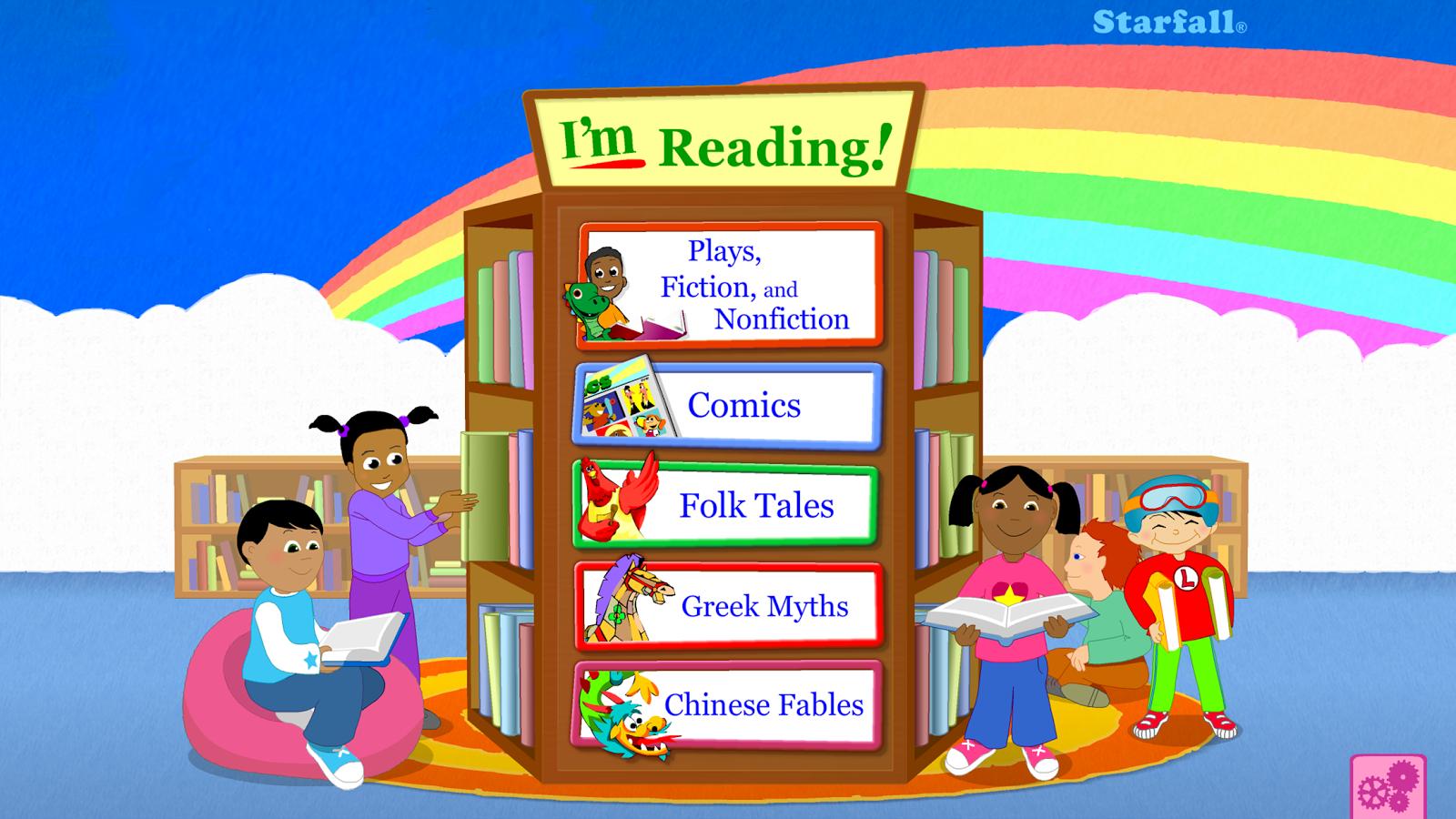 starfall im reading screenshot
