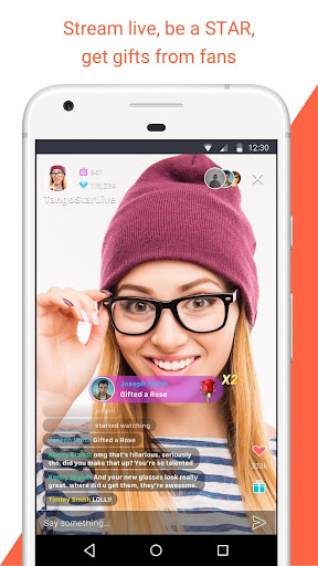Download Tango - Live Video Broadcast MOD APK 1