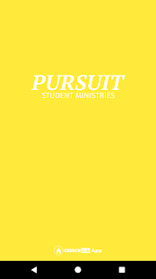 Pursuit Student Ministries - náhled