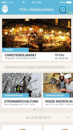Gemeinde24 - Die Gemeinde App screenshots 2