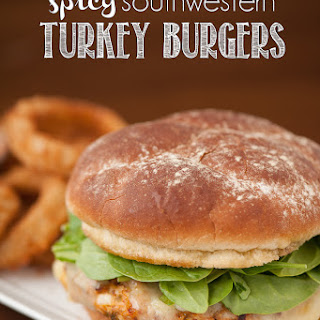 Spicy Turkey Burgers.