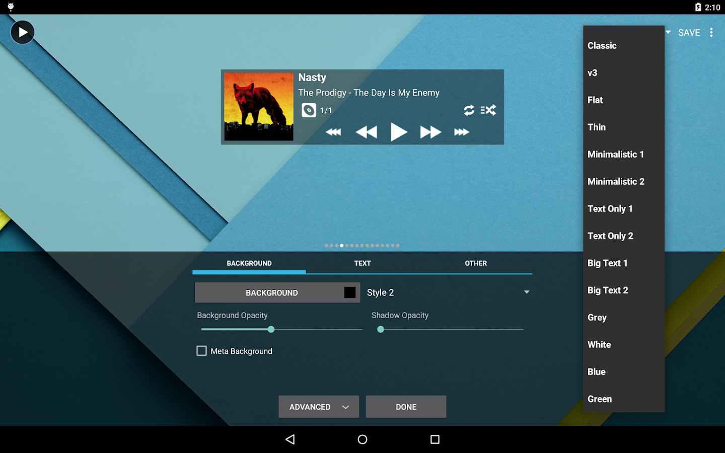 Poweramp Full Version Unlocker- screenshot
