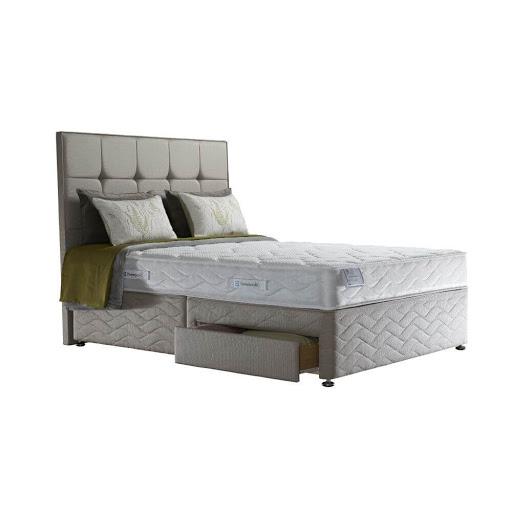 Sealy Burley Memory Divan Bed
