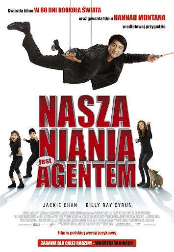 Polski plakat filmu 'Nasza Niania Jest Agentem'