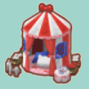 ハローキティのテント