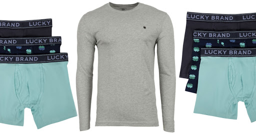 Lucky Brand Men's Long-Sleeve Tee & Boxer Brief 3-Pack BundleJust $23.94 Shipped (Regularly $65)
