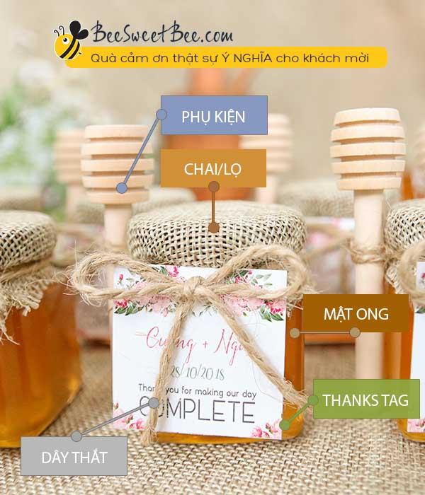 Mua quà tặng sau đám cưới tặng khách mời: hành động đẹp, đầy ý nghĩa