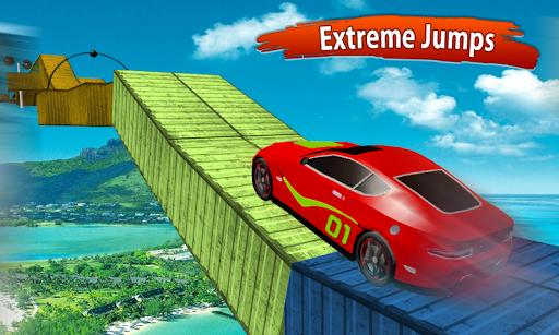 Impossible Race Tracks: Car Stunt Games 3d 2020 apkpoly screenshots 5