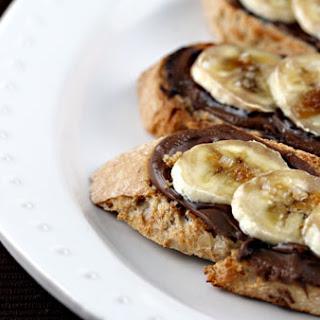 Nutella Banana Bruschetta