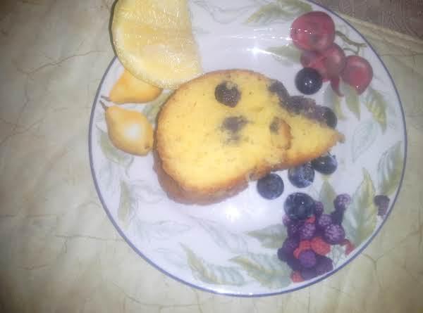 Blueberry Lemon Poppyseed Cake Recipe