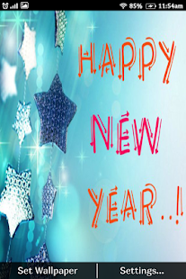 New Year HD Live WallPaper 2017 - náhled