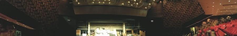 中日劇場パノラマ撮影 舞台と客席