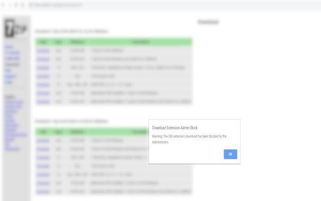 Download Extension Admin Block