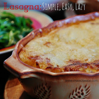 Simple Healthy Lasagna Recipes