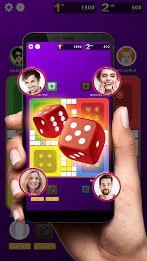 Ludo Club King : Free Multiplayer Dice Game android2mod screenshots 1
