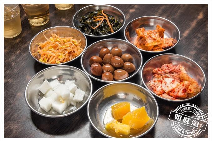 槿韓食堂免費小菜