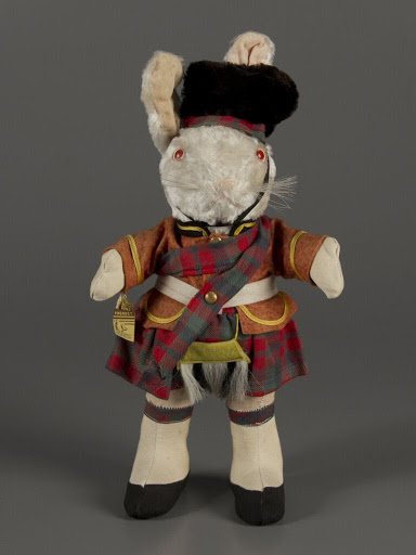 Stuffed animal:Scottish Rabbit