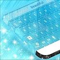 GO Keyboard Bleu clair gratuit icon